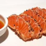 tataki salmone